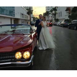 Classic Car Rental Miami Wedding