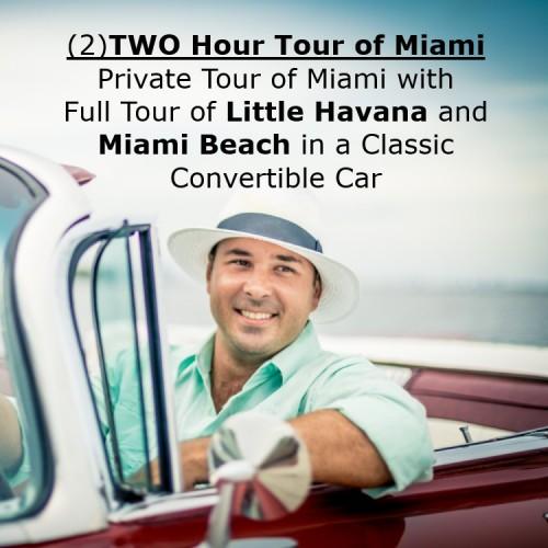 2HR Tour Miami Beach / Little Havana