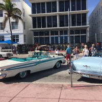 Classic Car Showcasing in Miami Beach