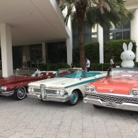 Classic Convertible Cars in Miami Beach