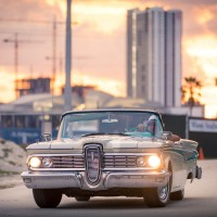 1959 Edsel Corsair-Miami-Sunset
