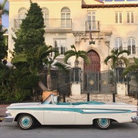 1959 Edsel Corsair on Ocean Drive - Miami Beach