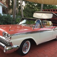 1959 Ford Skyliner Beautifully Restored