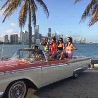 1959 Ford Skyliner Beach Photo Shoot