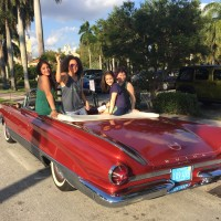Girly day with classic car
