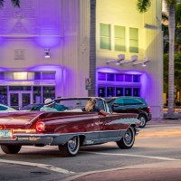 Miami Night Drive - Romance by City Tour in Classic Convertible Cars
