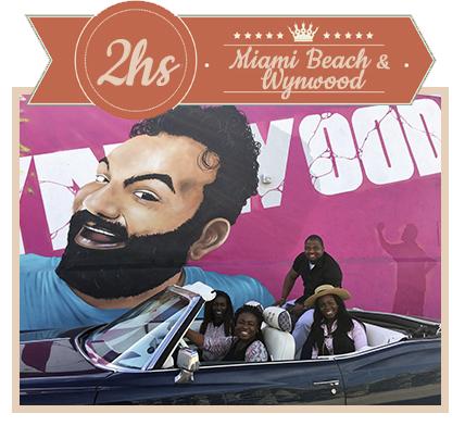 2 Hour Tour Wynwood & Miami Beach
