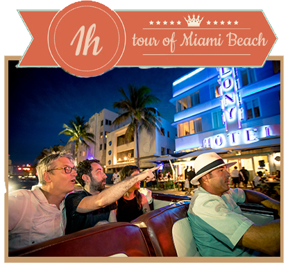 1-Hour Tour of Miami Beach / Car Tour