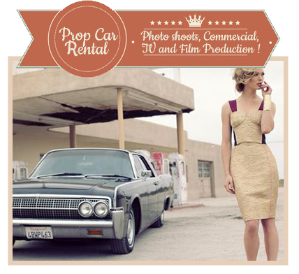 Rent Antique Convertible Car for Photo Shoots, Advertising and Commercials