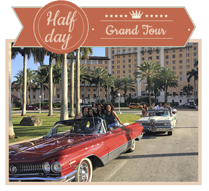 Book Half Day Classic Car Tour of Miami and Miami Beach